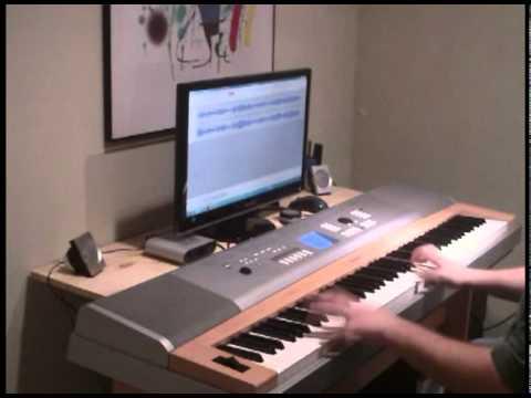 Phantom of the Opera - piano - main theme