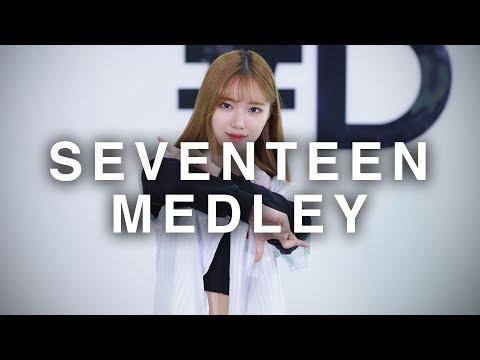 [ kpop ] SEVENTEEN Dance Medley (세븐틴 댄스 메들리) (#dpop Mirror Mode)