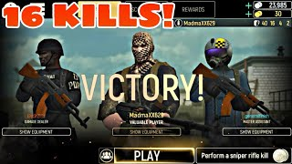 This is how dangerous machine guns are-tacticool 16 kills best gameplay