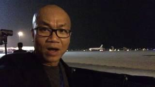 Đón TT Obama tại sân bay Nội Bài