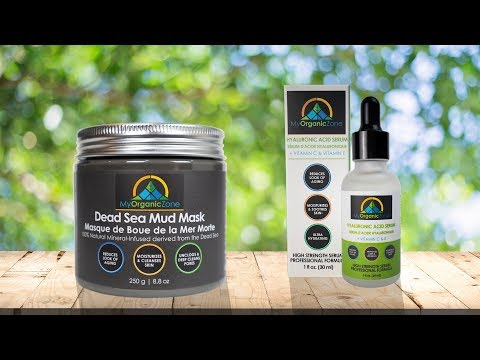Dead Sea Mud Mask Facial Pore Cleanser, Black Face Mask Benefits & Reviews_My Organic Zone for Blackheads & Acne
