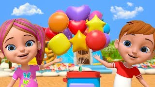 We Are Shapes Song | Kindergarten Nursery Rhymes for Children | Learning Videos | Little Treehouse