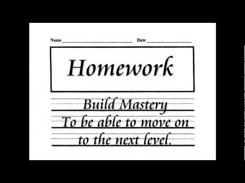 The ABCs of Homework