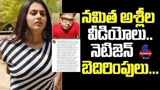 Actress Namitha strong reaction over netizen's vulgar comm..