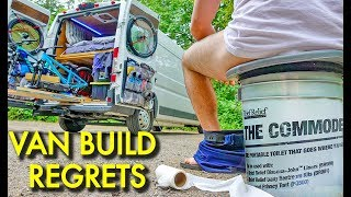 5 Things I HATE About My Custom Camper Van Build