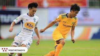 Đối đầu Sông Lam Nghệ An vs Hoàng Anh Gia Lai (Vòng 13 V.League 2019)