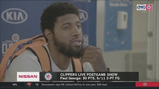 Paul George explains why Clippers loss to Lakers 103-101