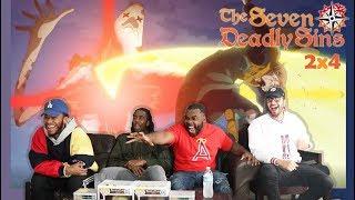 KING GOES HAM! The Seven Deadly Sins Season 2 Episode 4 REACTION!