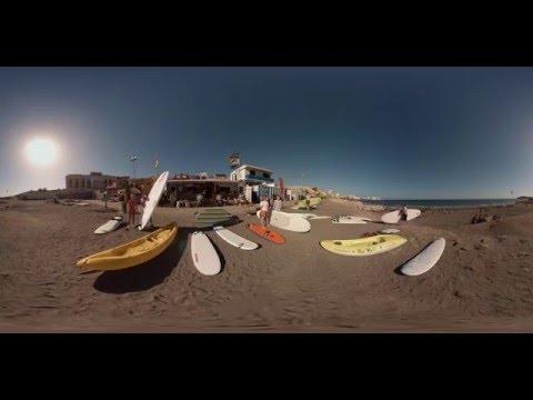 Suppailua Teneriffan 360°-virtuaalimatkalla