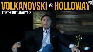 The Judges Say Volkanovski Beat Max Holloway, I Saw Something Different...