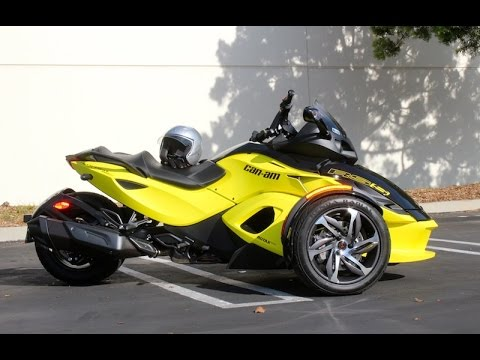 REVIEW: 2014 Can-Am Spyder RS-S