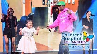 Jimmy Kimmel & Pharrell Williams Sweet Moments (Children's Hospital Los Angeles 2018)
