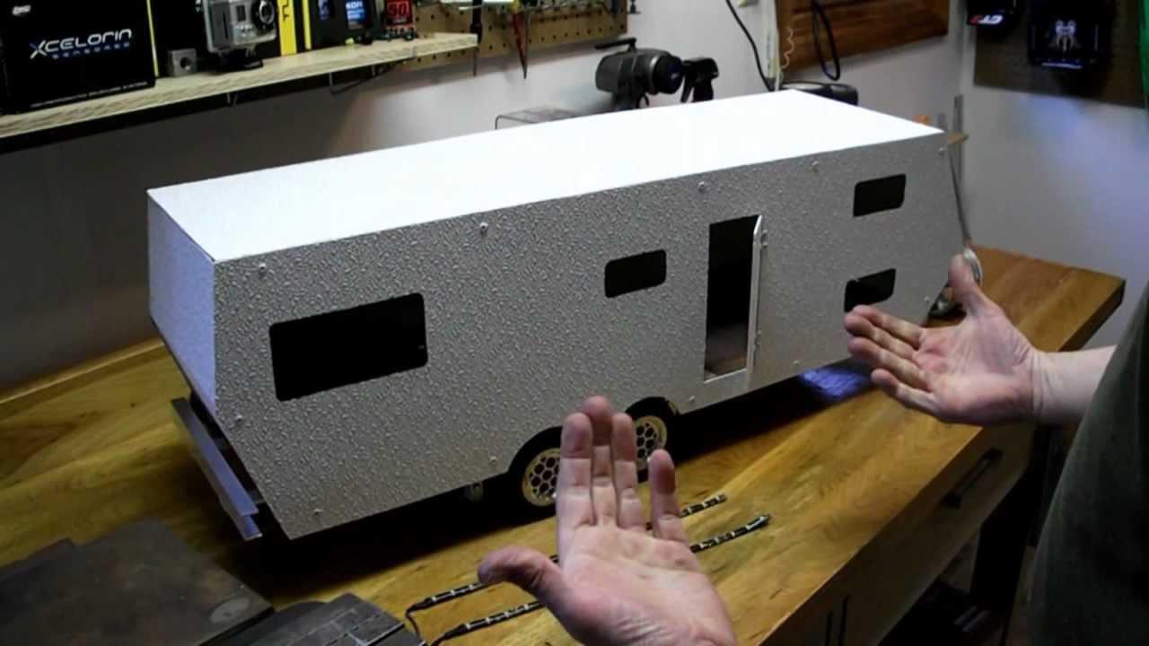 Rc Camper Build Part 4 Wmv Youtube