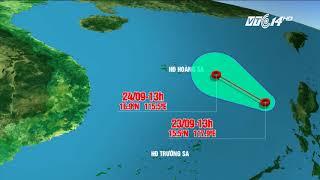 VTC14 | Lại xuất hiện áp thấp nhiệt đới trên Biển Đông