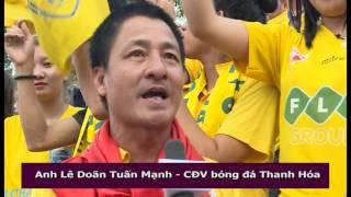 Đồng Hành Bóng Đá Thanh Hóa vòng 21+22: FLC Thanh Hóa vs Sài Gòn+ Hải Phòng