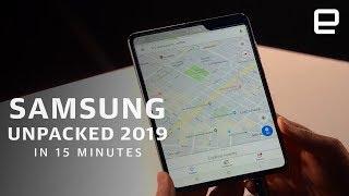 Samsung Galaxy S10 event in under 15 minutes