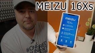 Распаковка и первый взгляд на Meizu 16Xs