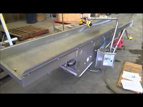 """Used 24"""" Wide X 11-6"""" Long PPM Technologies Stainless Steel Vibrating Conveyor"""