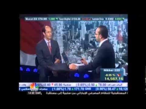 أشرف العايدي على سي ان بي سي العربية -- 13 نوفمبر2013 Chart