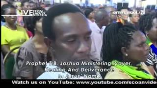 EMMANUEL TV LIVE SERVICE SUNDAY 14 05 2017 PROPHET TB JOSHUA AT THE