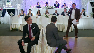 Fun Wedding Reception Games For Guests Toronto | GTA Wedding Cinematographer