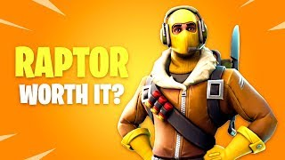 Is Raptor Skin Worth it? Fortnite Battle Royale Daily Items Update