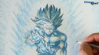 How to Draw Super Saiyan 2 Gohan | Art