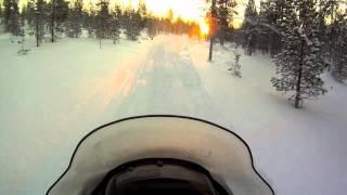 Safari en motoneige