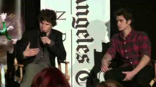 L.A. Times Young Hollywood Roundtable: Working With Veterans