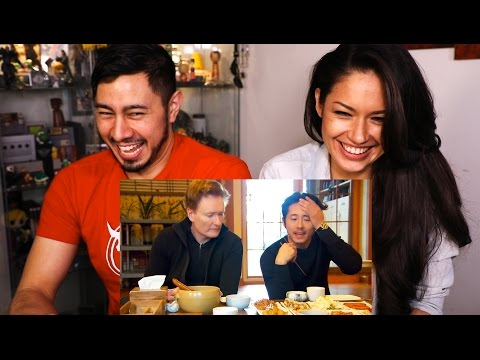 CONAN & STEVE YUEN ENJOY A TRADITIONAL KOREAN MEAL | Reaction with Joli!