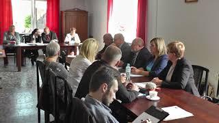24 maja 2018r. w Ośrodku Kultury, Sportu i Turystyki odbyła się XLIV Sesja Rady Miasta i Gminy Wleń.