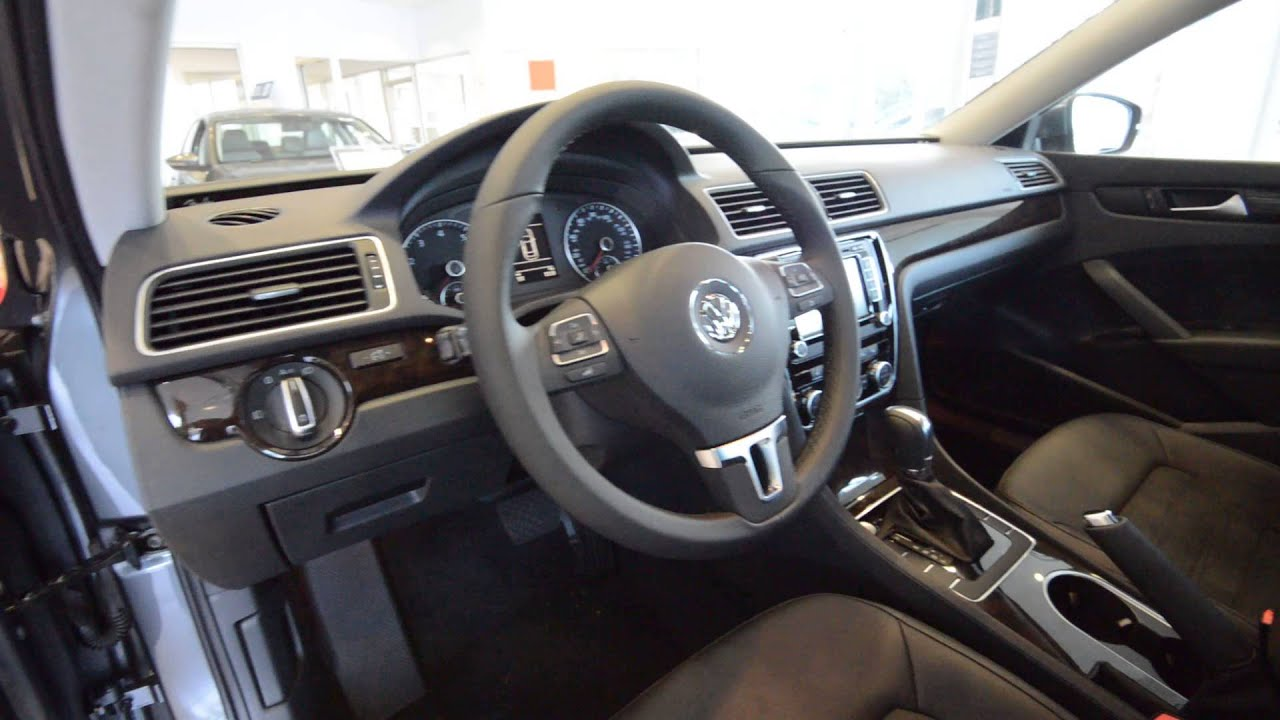 2014 Volkswagen Passat Tsi Sel 1 8t All New Car At Trend