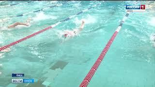 Сегодня в  омском бассейне «Пингвин» второй день зимнего  чемпионата по плаванию на короткой воде