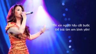 Tinh Khong La Mo - Minh Tuyet (Lyrics)