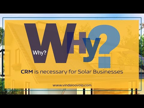 Why CRM is necessary for Solar Businesses?