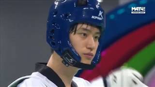 Dae-Hoon Lee KOR vs. Yu-Jen Huang TPE. Taekwondo World Championship 2017. Final Men 68 kg. 27.06.17