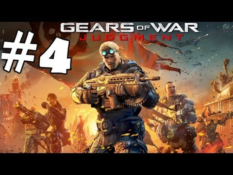 Gears Of War Judgement Walkthrough Part 4 Campaign Gameplay Review Lets Play HD XBOX 360 - Smashpipe Games