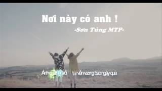 Nơi Này Có Anh, Love Is... | Lyrics Video - The Frist Way