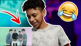 REACTING TO WHY DON'T WE COMPLIMENT BATTLE!!