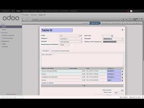 Odoo V8 Project Management 4