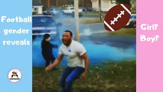 BEST SUPER BOWL AND FOOTBALL BABY GENDER REVEAL  COMPILATION / CUTE PREGNANCY ANNOUNCEMENT