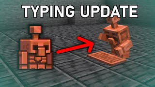 Ruining Minecraft Live's Copper Golem [Minecraft 1.19]