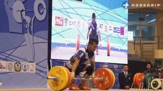 Nestor Colonia & Le Quoc Toan Tran (56) - C&J comparison @ 2015 Asian Championships