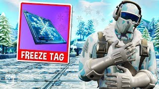 *NEW* FROSTBITE FREEZE TAG Custom Gamemode in Fortnite Battle Royale!