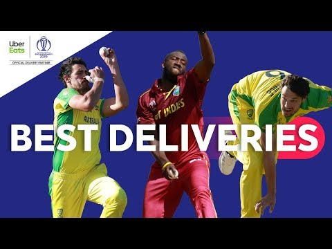 UberEats Best Deliveries of the Day | Australia vs. West Indies | ICC Cricket World Cup 2019