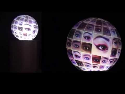 Interactive Digital Globe Display System