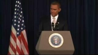 Steve Bridges as President Obama - August 2011