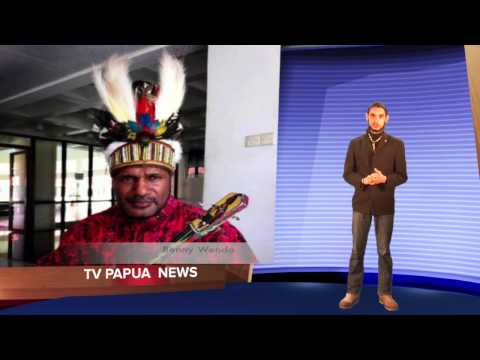TV Papua news of March 2013