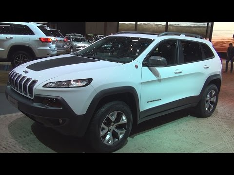 @Jeep Cherokee (2017) Exterior and Interior in 3D