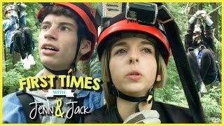 ZIP LINING! W/ JENNXPENN AND THATSOJACK | FIRST TIMES EP. 9